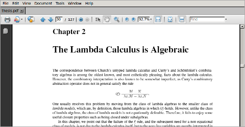 High quality pdf output from latex and tex